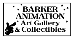 Barker Animation Art Galleries & Collectibles Logo