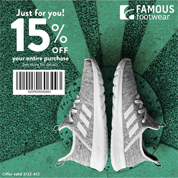 Famous Footwear Outlet Art