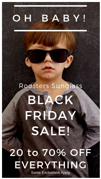 Roosters Sunglass Art