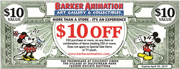 Barker Animation Art Galleries & Collectibles Art