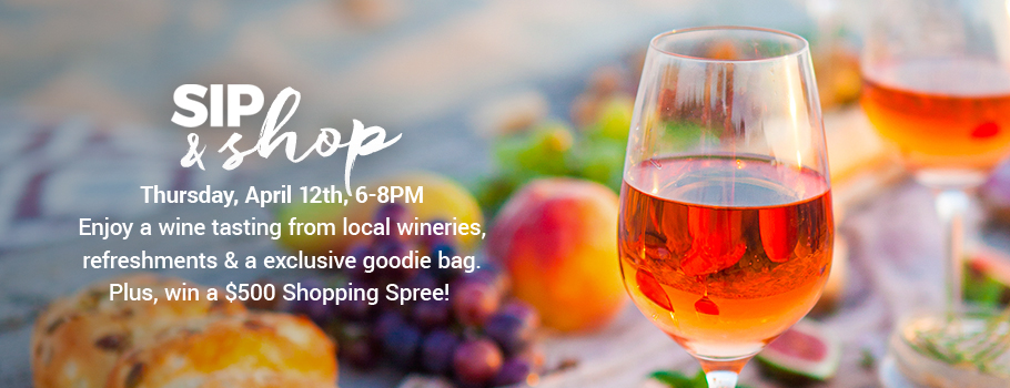 Sip & Shop, A Wine Tasting & Shopping Night Out